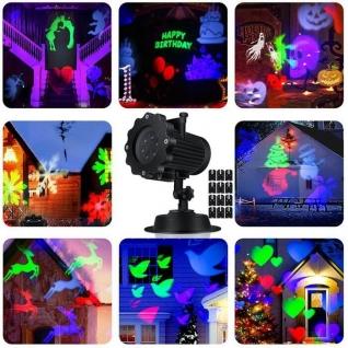 Светодиодный проектор для дома и улицы Праздничный дом/улица