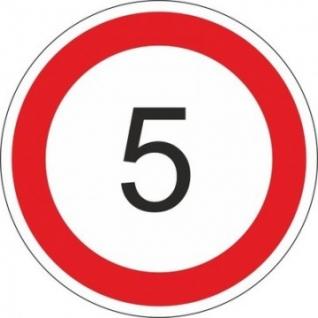 Дорожный знак 3.24 Огран-е макс.скорости 5км/ч (К700)инд/уп