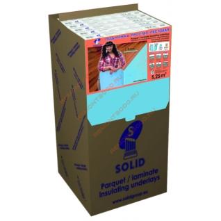 СОЛИД подложка XPS листовая 5мм (упак. 5,25 кв.м.) / SOLID подложка XPS листовая под ламинат 5х1050х500мм (упак. 10шт.=5,25 кв.м.) Солид