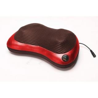 Массажная подушка для шеи, плеч и спины Bradex (Красная)