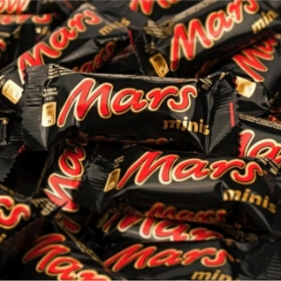Шоколадный батончик Mars миниc, 1кг