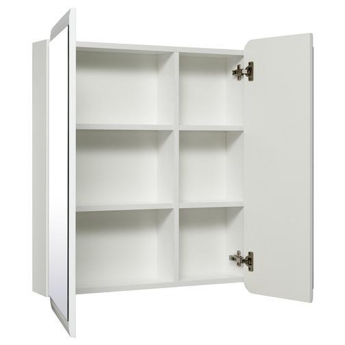 Шкаф зеркальный для ванной Runo Эрика 70 Белый 38114474 2