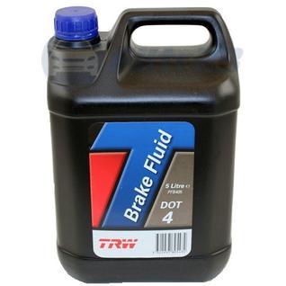 Тормозная жидкость TRW DOT 4 5л PFB405