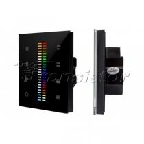 Arlight Панель Sens SR-2830C-AC-RF-IN Black (220V,RGB+CCT,4зоны)