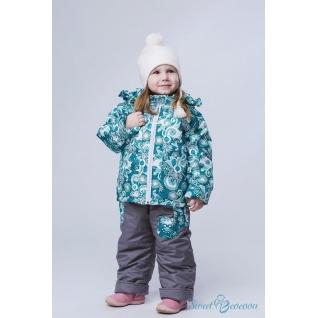 """Демисезонный костюм для девочки """"Весна"""" Sweet Cocoon (Куртка + полукомбинезон)"""