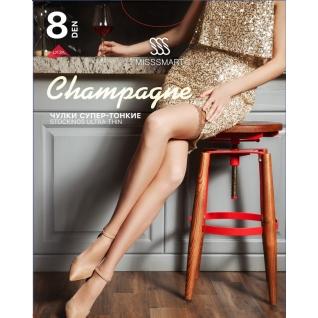 Misssmart Чулки женские. Champagne 8 den
