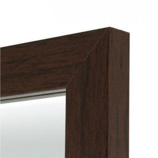 Зеркало МИР_в раме МДФ 340x15x940 / 300x900 (3400314.03) каштан