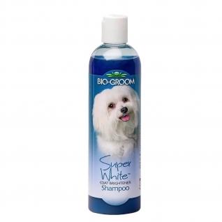 Bio-Groom Bio-Groom Super White Shampoo шампунь для собак супербелый 355мл.