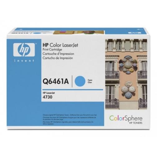 Оригинальный картридж HP Q6461A для HP CLJ 4730, 4700 (голубой, 12000 стр.) 895-01 Hewlett-Packard 852416 1