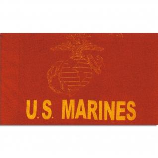Made in Germany Флаг US Marines красный