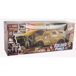 Игровой набор Solder Force VIII - Бронемобиль пехоты (стреляет) Chap Mei