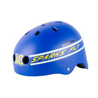 Ролик. шлем Maxcity Roller Stike, голубой размер L