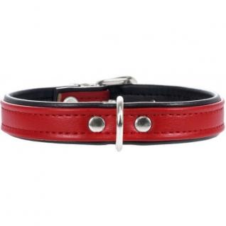 Hunter Hunter Smart ошейник для собак Modern Аrt 32/11 (24-28,5 см) кожзам красный/черный