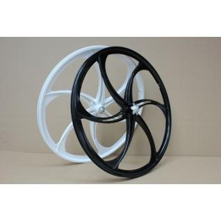 Литые изогнутые диски на велосипед 26 дюймов (разных расцветок)