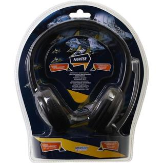 Гарнитура проводная SmartBuy FIGHTER, SBH-7500, рег.громкости, кабель 2.5м