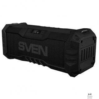 Sven SVEN PS-430, черный (15 Вт, Waterproof (IPx5),Bluetooth, FM, USB, microSD, LED-дисплей, 2000мА*ч)