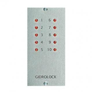 Пульт с индикацией на 10 светодиодов GIDROLOCK