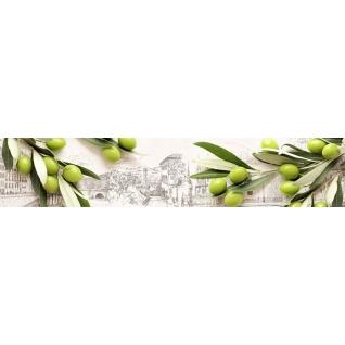 Фартук для кухни АБС Итальянская Олива №25 600х3000х1,5мм