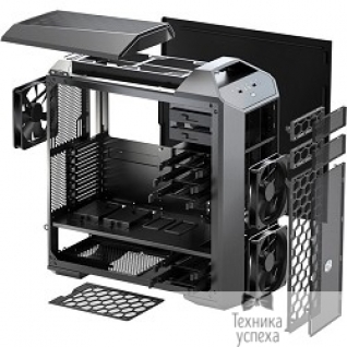 Cooler Master Cooler Master MasterCase Pro 5 MCY-005P-KWN00 Mid-Tower Case with FreeForm Modular System, Window Side Panel, Top Mesh Cover, and Watercooling Bracket