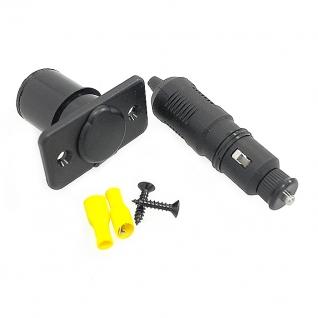 Прикуриватель c LED индикатором с розеткой (C3024LED)