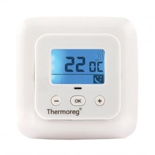 Терморегулятор для теплого пола Thermoreg TI-900 Белый