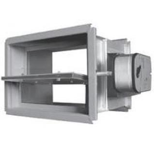 DVS60(90)ME 200x200 Протво дымный канальный клапан