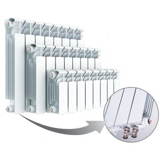 Радиатор Rifar B 500 х 8 сек НП прав BVR собранный