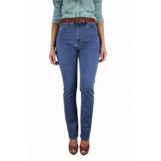 Женские джинсы с ремнём MossMore MR-595BA-393