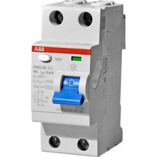Выключатель дифференциального тока (УЗО) ABB FH202 2P 40A 100mA AC