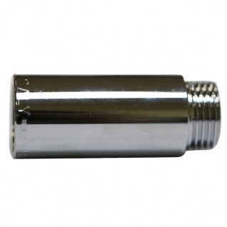 Удлинитель латунный хром 1/2 50 мм