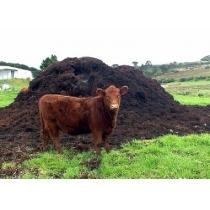 Коровий навоз в мешках по 50 л.