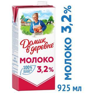 Молоко Домик в Деревне 3,2% 950г,79286