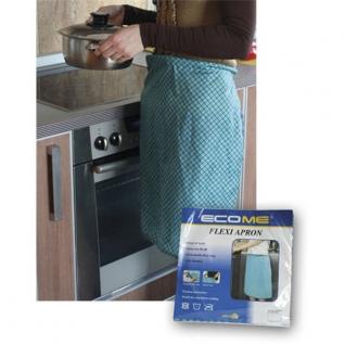 Кухонные аксессуары. Открывалки. Potter Ind. Ltd. Фартук Flexi Apron зеленый NW-KC056-G