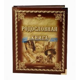 """Родословная """"Ретро-портреты"""", обложка из ламинированного картона"""