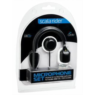 Запасной микрофон Q1/Q3 (гибридная штанга + на проводе) Cardo Scala Rider