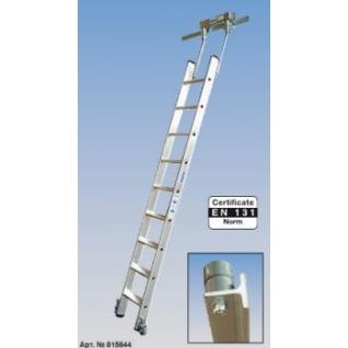 Лестница STABILO для стеллажей для Т-образной шины. 9 ступ.