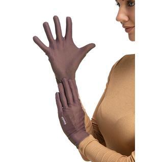 Многоразовые защитные перчатки взрослые Mujjo Brown M/L Routemark