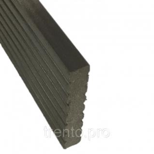 Торцевая планка для досок Deckron, Darvolex, Ecodeck 12x70x4000мм Gardeck