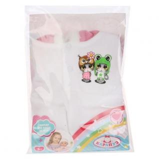 Одежда для кукол 'Карапуз' 40-42см, теплый комбинезон на капюшоне 'котята' в пак. в кор.100шт
