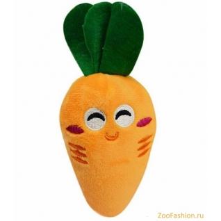 """Мягкая игрушка для собак """"Морковь"""" (10см)"""