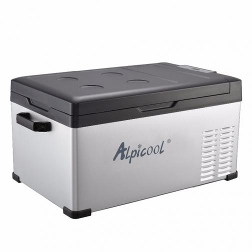 Kомпрессорный автохолодильник ALPICOOL ACS-25 черный (30л, 12/24/220В) 36971683 4