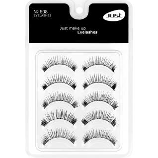 JEANS / JUST - Набор накладных ресниц Make-Up Eyelahes /5 пар/ № 508