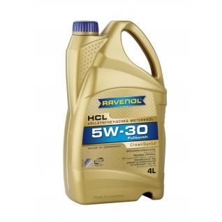 Моторное масло Ravenol HCL 5W30 4л