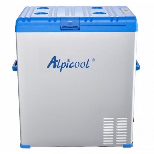 Kомпрессорный автохолодильник ALPICOOL ABS-75 синий (40л, 12/24/220В) 36971689 1