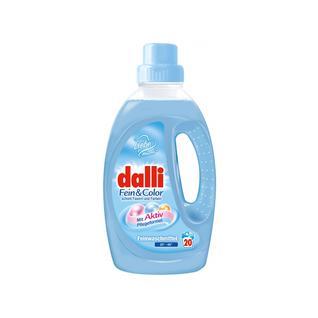 Средство жидкое для стирки деликатного и другого белья, цветных тканей DALLI FEIN AND COLOR 1,1 л