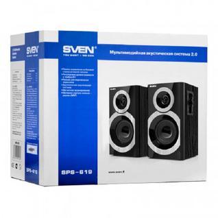 Акустическая система SVEN SPS-619 20 Вт чёрный