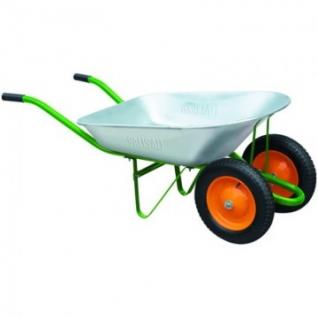 Тачка садовая 2 колеса, грузопод 170 кг, 78л PALISAD (68922/689223)