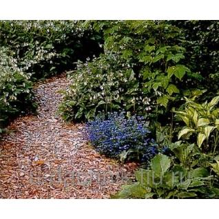 Мульча (щепа) натурального цвета в мешках по 50 л