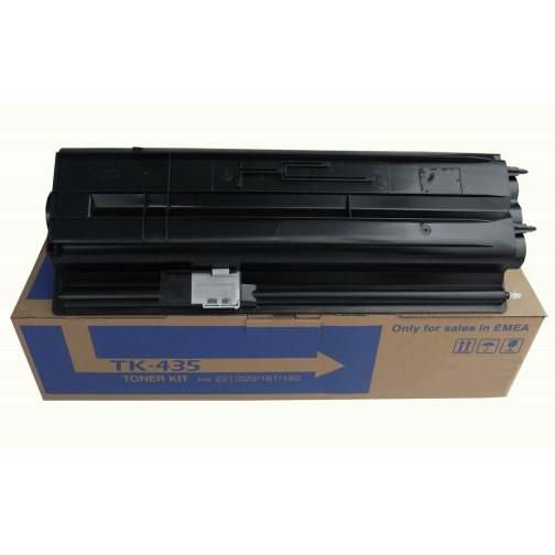 Картридж TK-435 для Kyocera Mita TASKalfa 180, 181, 220, 221 (чёрный, 15000 стр.) 1297-01 852475 1
