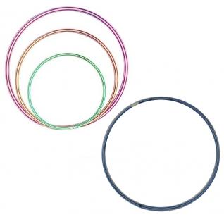 Пластиковый обруч, полосатый, 80 см Польская пластмасса